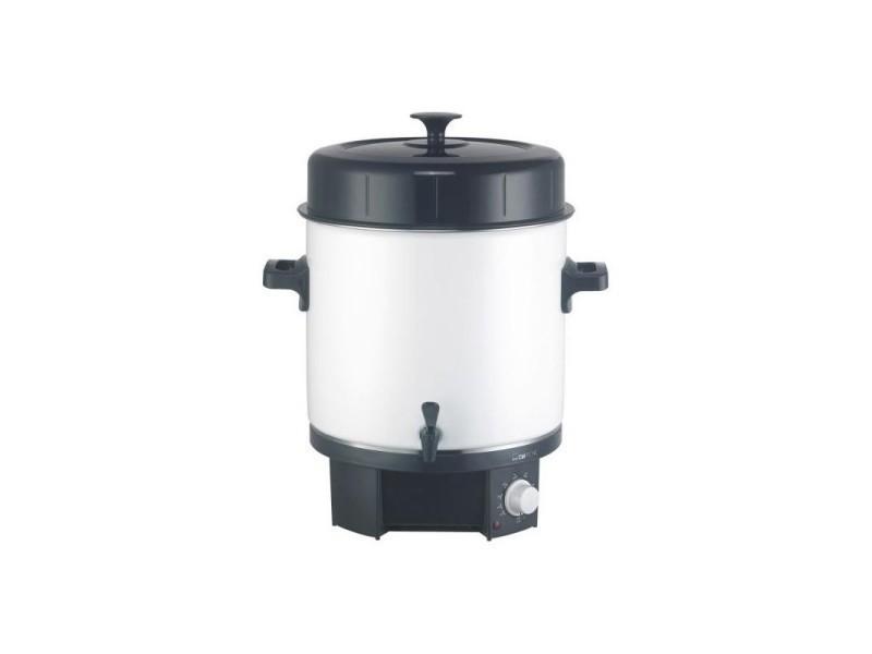 Préparateur/distributeur de boissons chaudes clatronic eka 3338 (blanc)
