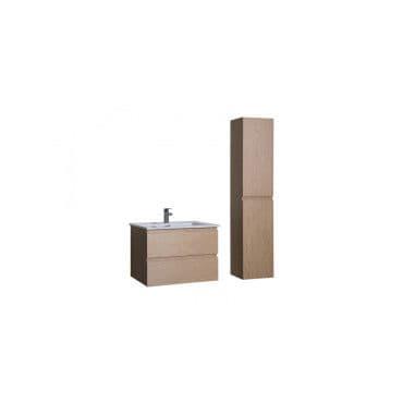 Ensemble salle de bain 60 cm meuble sous vasque colonne - Meuble colonne salle de bain conforama ...