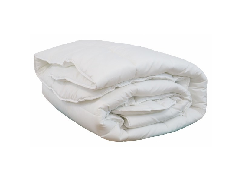 Couette blanche synthétique 550gr hiver olympe - 200x200 cm