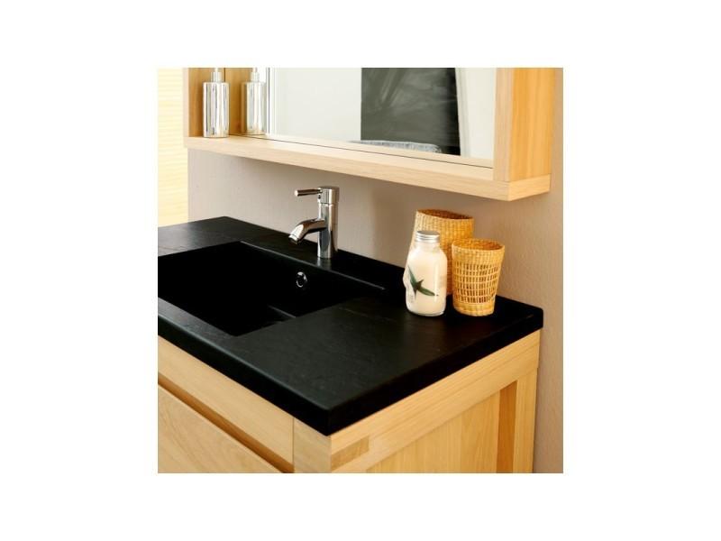 Meuble avec vasque miroir de salle de bain artemis l 90 x l 50 x h 87 neuf vente de for Miroir 50 x 90
