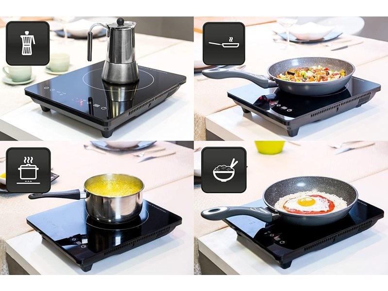 Plaque de cuisson à induction 2400w noir