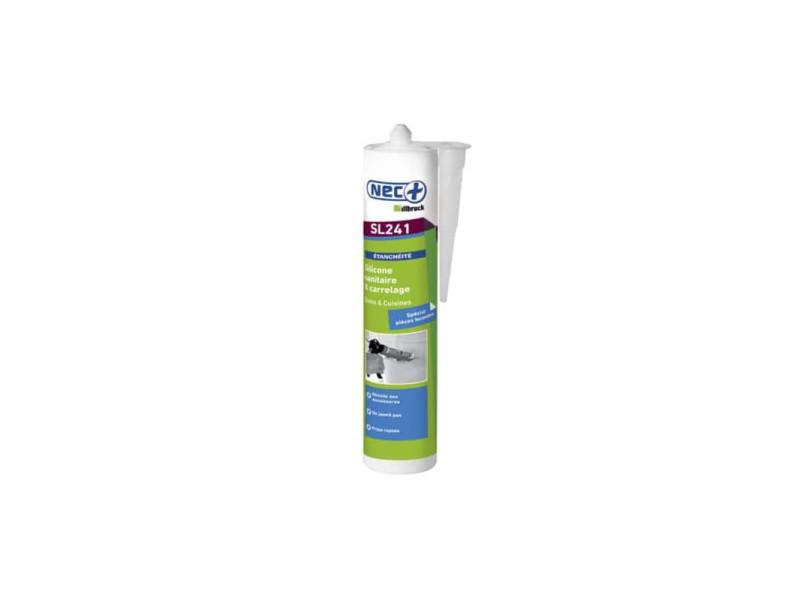 Silicone pu illbruck sanitaire et carrelage - transparent - 310ml gs242 GS242