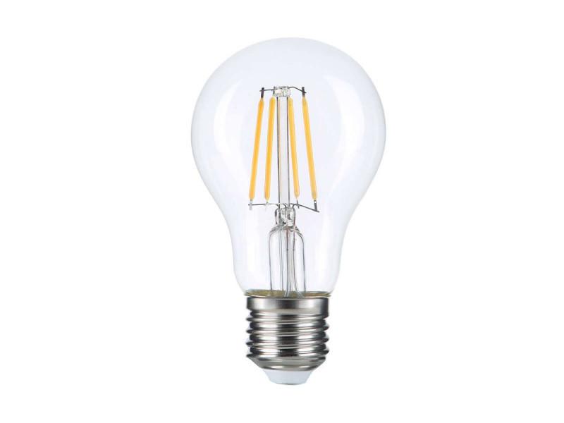 Ampoule led e27 a60 filament e27 8w (eq. 60 watts) - blanc du jour 6000k SP1310