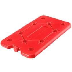 Bac réfrigéré rouge pour glacière 25x14 cm