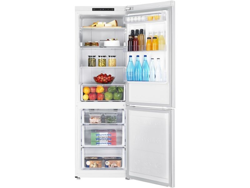 samsung r frig rateur frigo combin blanc 311l a froid. Black Bedroom Furniture Sets. Home Design Ideas