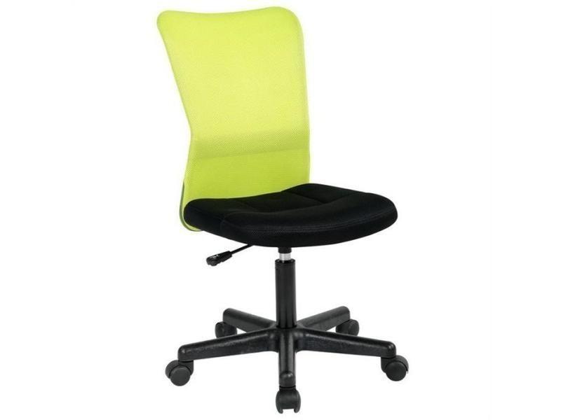 Fauteuil de bureau enfant hauteur rglable vert Vente de