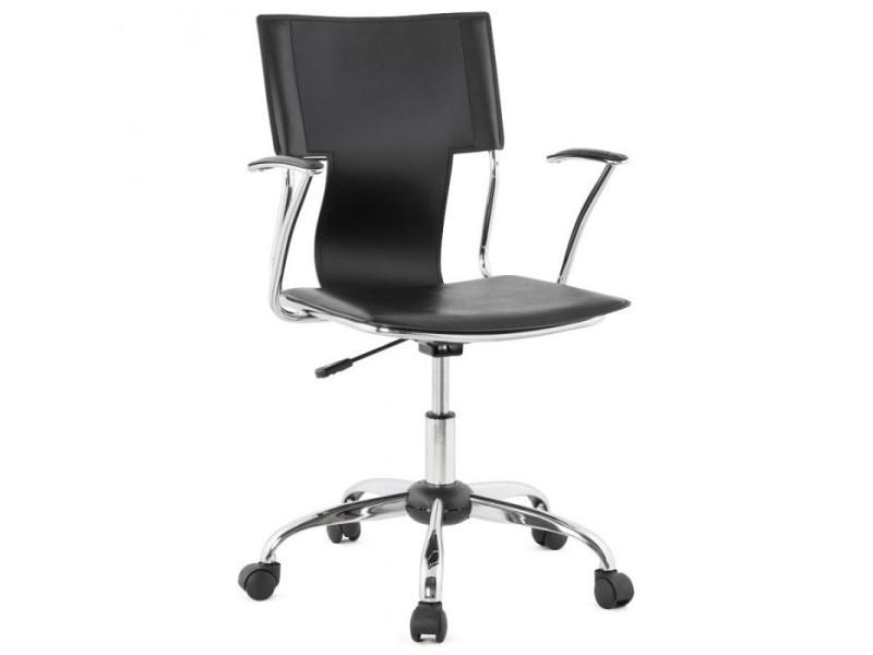 Chaise de bureau noire oxford vente de fauteuil de bureau conforama