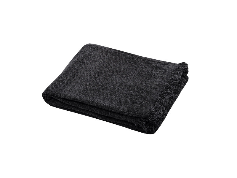 Plaid 125x150 cm chila noir