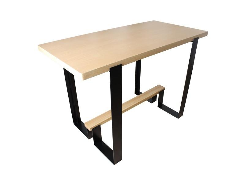 Bar design bois et métal