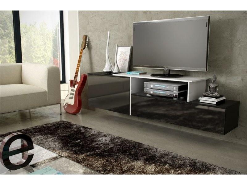 meuble tv suspendu macig vente de meuble tv conforama. Black Bedroom Furniture Sets. Home Design Ideas