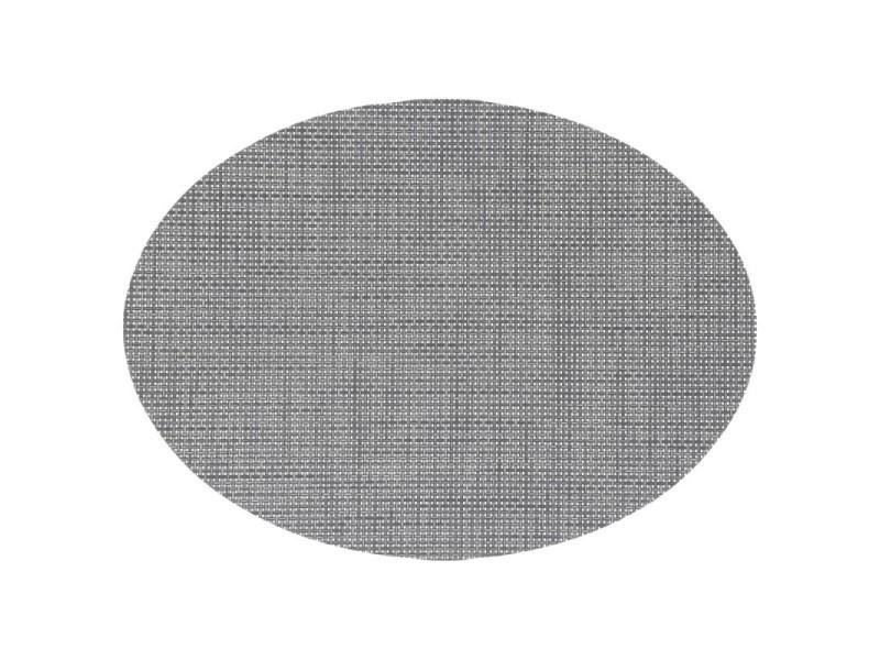 Set de table ovale 48x35cm taupe