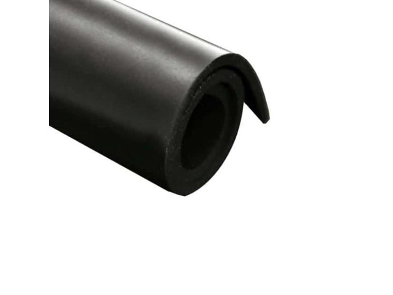 Feuille caoutchouc néoprène 100x140cm épaisseur 4mm NEO4