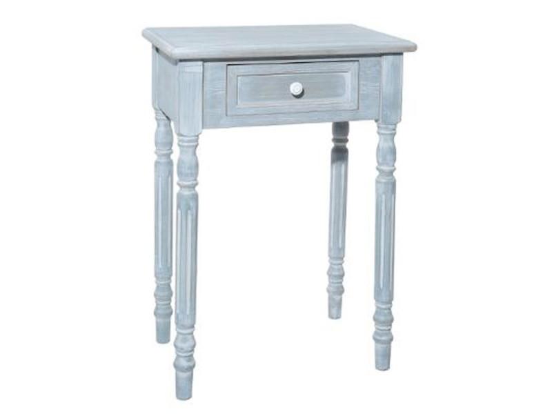 Paris prix - table de chevet 1 tiroir en bois \