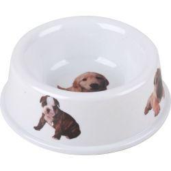 Gamelle pour chien - 0,45 l - blanc