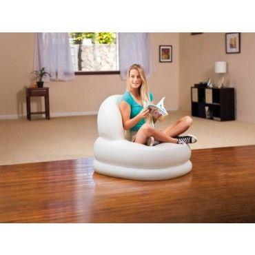 fauteuil gonflable gelato vente de intex conforama. Black Bedroom Furniture Sets. Home Design Ideas