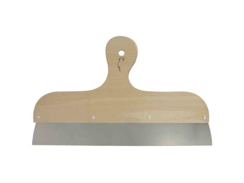 Outibat - couteau à enduisage inox - manche bois 60 cm BD-210256