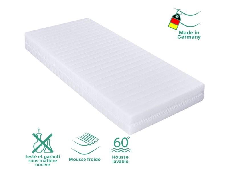 Matelas 140 x 200cm matelas ferme confortable pas cher matelas sommeil réparateur- épaisseur 15 cm