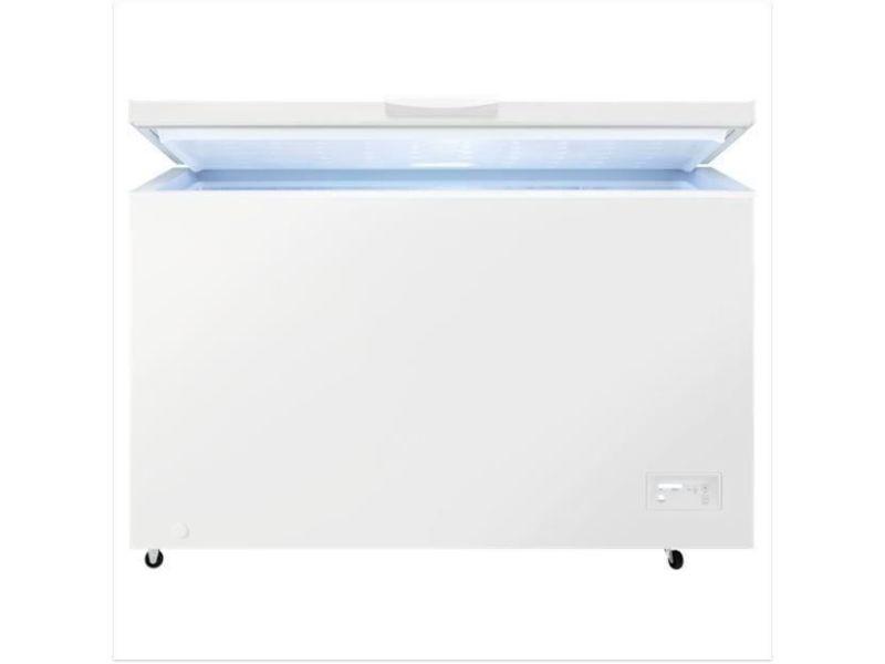 Congélateur coffre 371l froid statique faure 130cm a+, fau7332543730025 FAU7332543730025