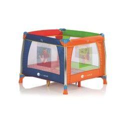 Parc pliant Baby Fox 100 cm x 100 cm Aluminium - Multicolore