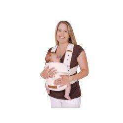 Porte bébé natur ecru