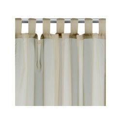 Rideau voile à pattes polyester ficelle 140 x 240 les ateliers du linge