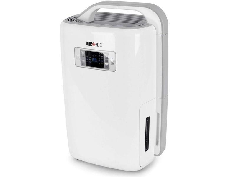 Duronic dh20 déshumidificateur efficace de 20 litres par jour avec programmateur / taux d'humidité / vitesse réglable – 320w