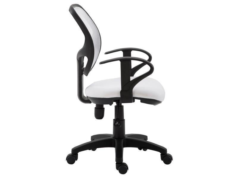 Fauteuil bureau chaise avec accoudoirs hauteur réglable Chaise en Mesh Réglable