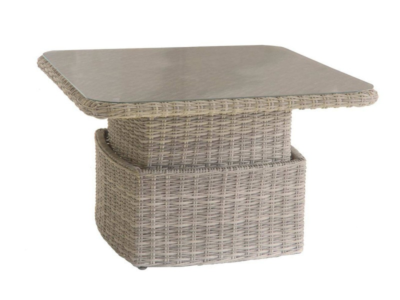Table salon ajustable moorea beige - hespéride - Vente de ...