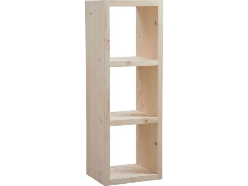 Cubes de rangement en bois brut vente de aubry gaspard conforama