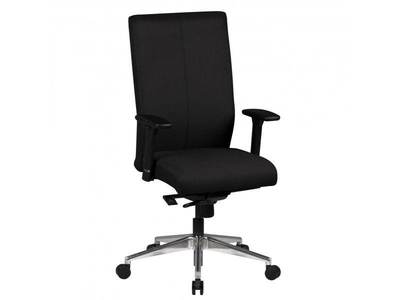 Chaise de bureau moderne en tissu coloris noir vente de