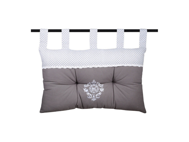 coussin t te de lit m line 45x70cm vente de lovely casa conforama. Black Bedroom Furniture Sets. Home Design Ideas