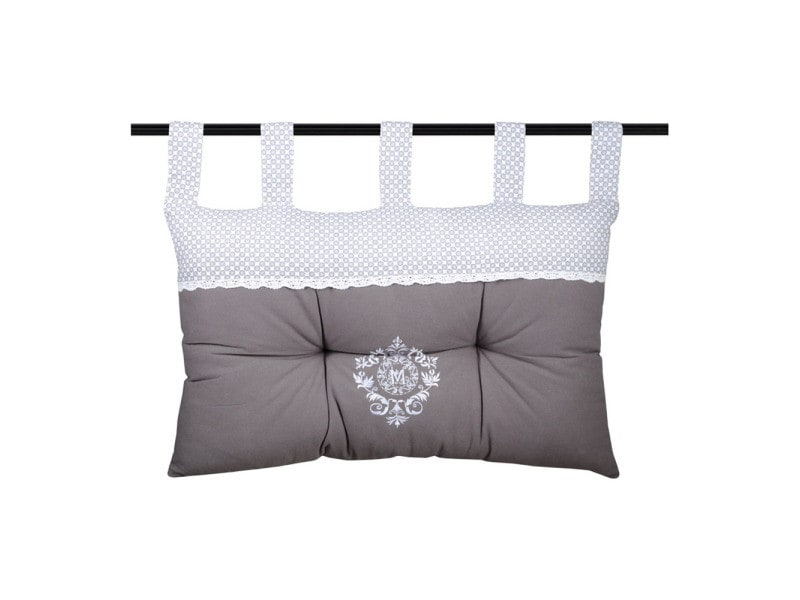 coussin t te de lit m line 45x70cm vente de lovely casa. Black Bedroom Furniture Sets. Home Design Ideas