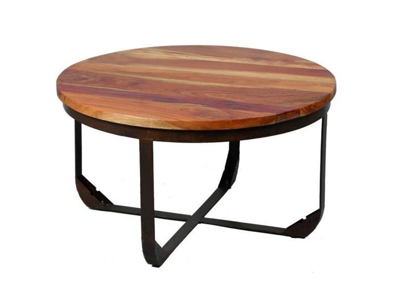 Table basse alabama en bois recyclé 20100872127