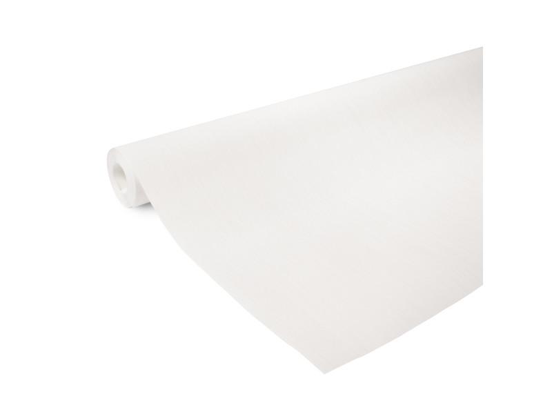 Papier peint intissé uni line 1005 x 106cm blanc