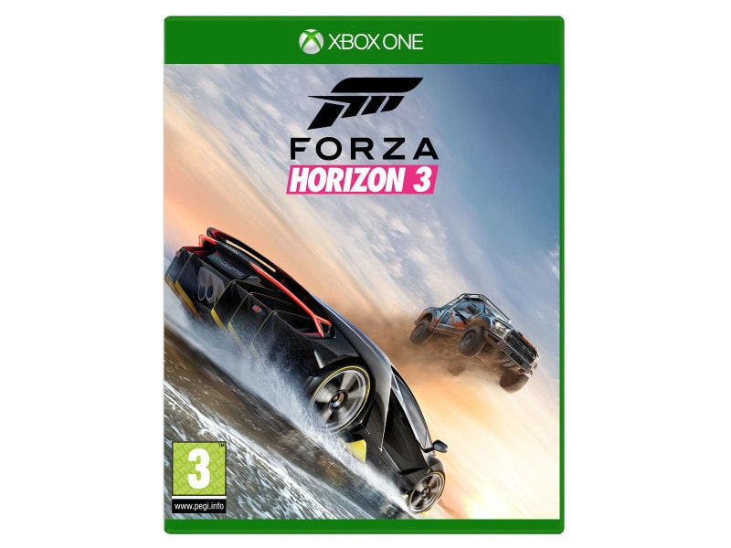 forza horizon 3 xbox one vente de jeux vid o conforama. Black Bedroom Furniture Sets. Home Design Ideas