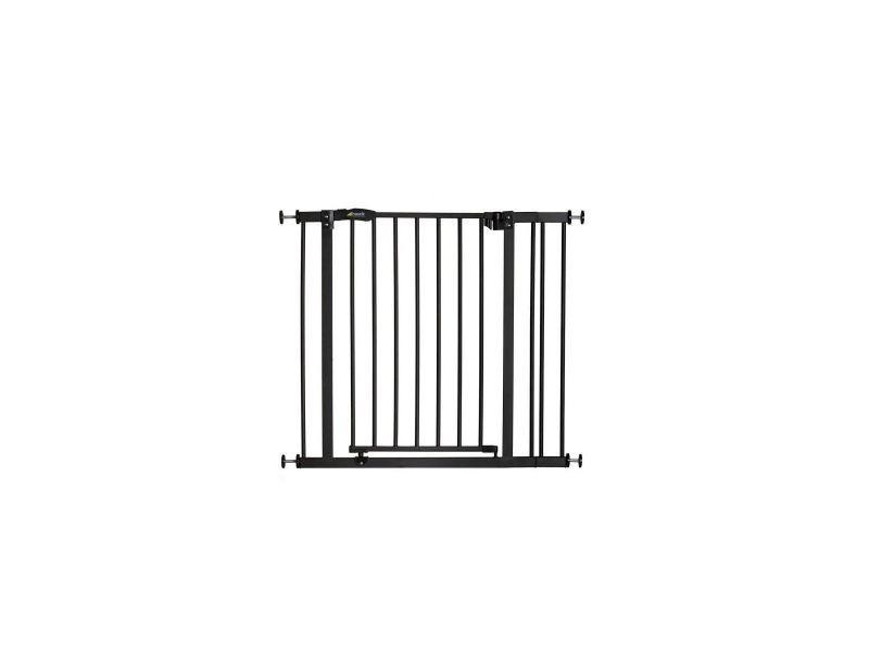barri re d 39 escalier hauck close n stop 9cm extension charcoal vente de hauck conforama. Black Bedroom Furniture Sets. Home Design Ideas