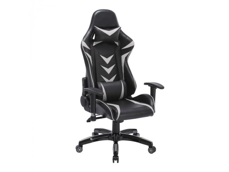Fauteuil de bureau racer gaming noir et gris vente de fauteuil