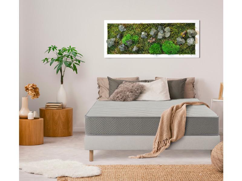 Nuit de coton | matelas prélude bio 160x200 cm | latex naturel | soutien ferme 3MA147.1620