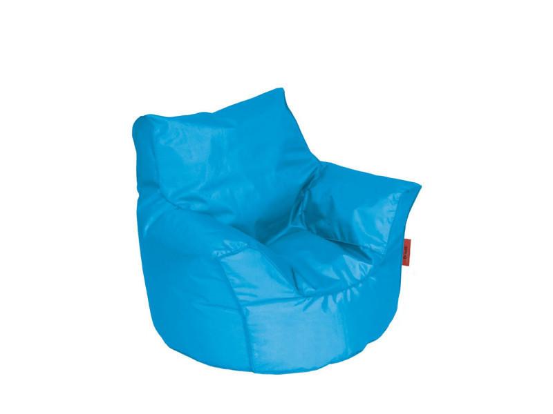 pouf fauteuil enfant piccolo couleur bleu pic420turq. Black Bedroom Furniture Sets. Home Design Ideas