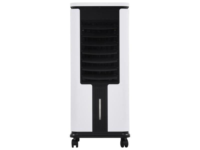 Vidaxl refroidisseur d'air humidificateur purificateur d'air 3en1 75 w 51129