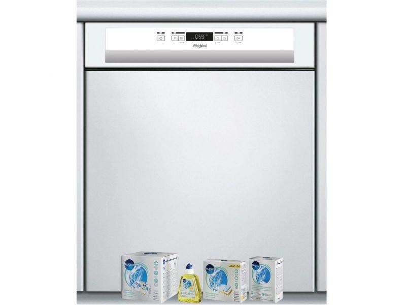 Lave-vaisselle intégrable encastrable bandeau blanc 46db 14 couverts 60cm moteur induction