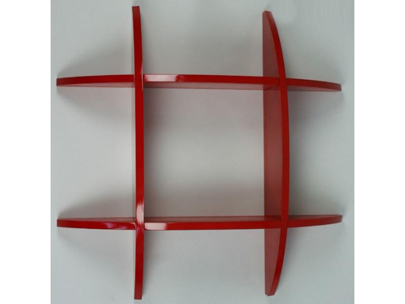 Etageres Cubes Rouge
