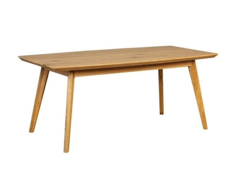 Bobochic table à manger brava 180cm chêne
