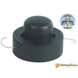 Ribiland - bobine fil nylon, ø 1,4 mm pour coupe-bordure modèle prw500a -prwf500a