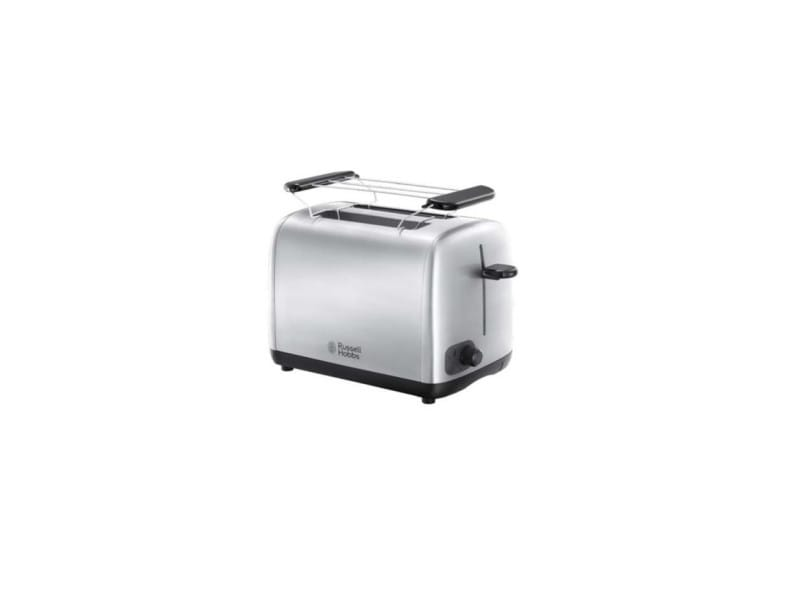 Russell hobbs grille pain toaster electrique - 24080-56 - 2 fentes - argent 3628