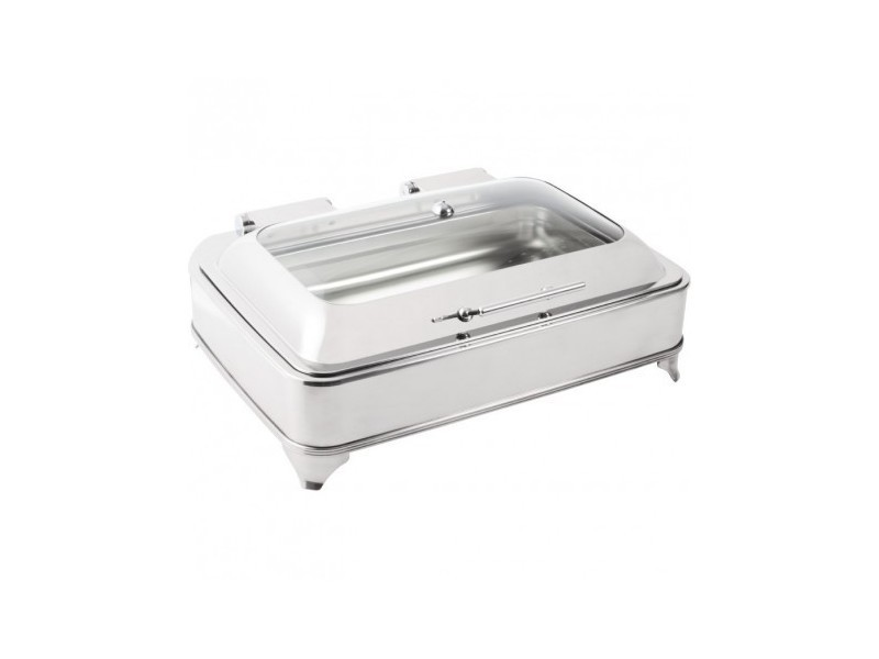 Chafing dish electrique inox 8 litres - olympia - 800 cl