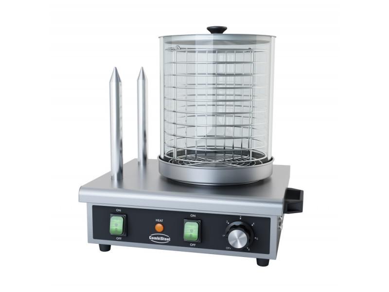 Machine à hot dog avec 2 plots - combisteel -