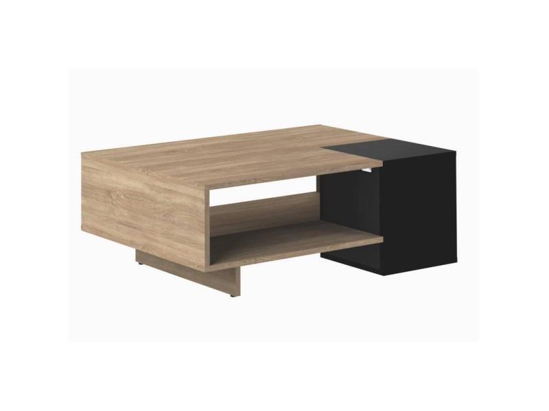 table basse design scandinave dainn noire 20100866357 conforama. Black Bedroom Furniture Sets. Home Design Ideas