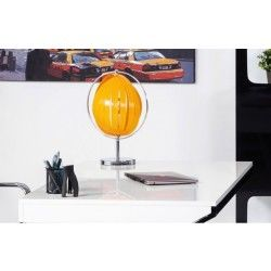 Lampadaire de table design orange