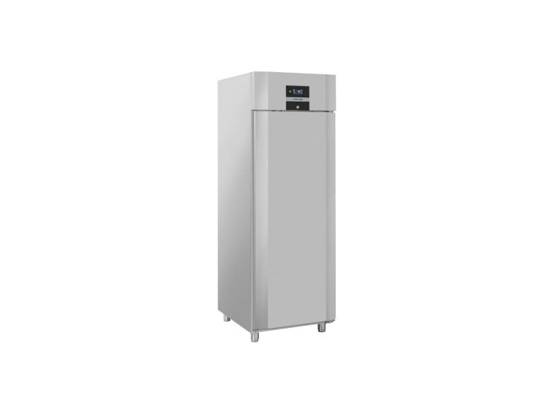 Armoire réfrigérée négative inox 550 l - gn 2/1 - cool head - r290 1 porte pleine